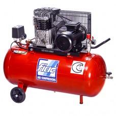 Компрессор поршневой с ременным приводом, Vрес=100л, 360л/мин, 380V, 2,2кВт FIAC AB100/360/380-СНГ
