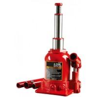 Домкрат бутылочный низкопрофильный двухштоковый 4т 160-390 мм TF0402 TORIN TF0402