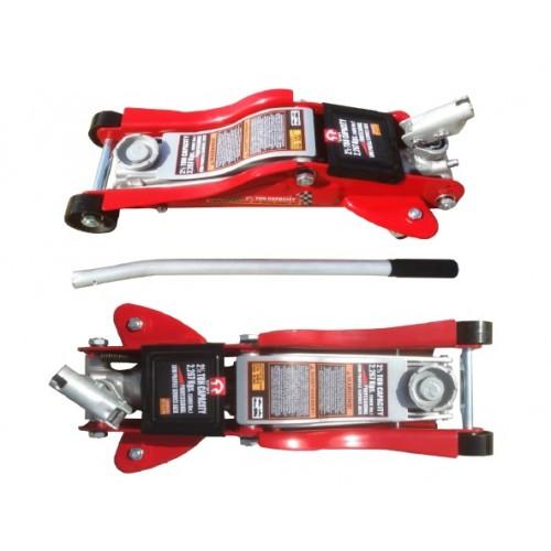Домкрат подкатной профессиональный низкий профиль 2.5т с поворотной ручкой 89-359 мм T825010R TORIN T825010R