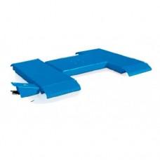 Подъемник ножничный (пневматический, низкопрофильный, грузоподъёмность 2500кг, длина подхватов 1300мм) RAV1380 RAVAGLIOLI
