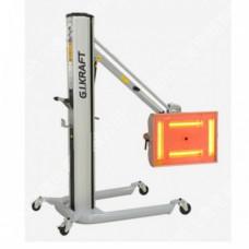 Инфракрасная коротковолновая сушка (4х1000W, 40°C-100°C, 0-99мин, ж/к дисплей, датчик расстояния и t G.I. KRAFT GI15115