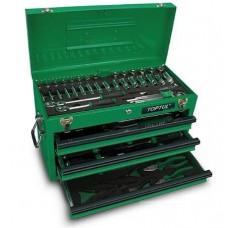 Ящик с инструментом (3 секции) 80ед. Toptul GCAZ0001