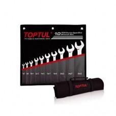 Набор рожковых ключей 10 шт. 6-32 Toptul GPCJ1001