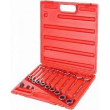 Набор ключей рожково - накидных с трещеткой 4 шт. JTC 3027 JTC
