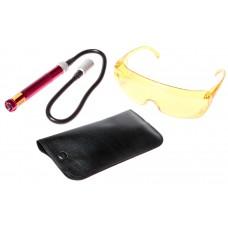 Ультрафиолетовый фонарь и очки для определения утечки фреона 1445 JTC