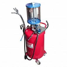 Устройство для откачки тех. жидкостей с мерной емкостью 1537 JTC