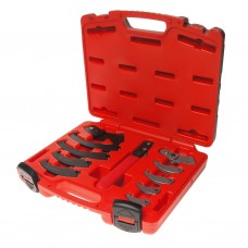 Набор ключей серповидных для круглых шлицевых гаек (19-165мм) 4455 JTC