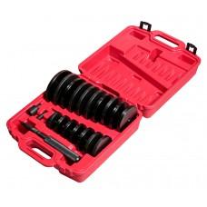 Набор оправок для выпрессовки подшипников, втулок, сальников 70-155мм (шаг 5мм) 4855 JTC