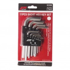 Набор угловых ключей HEX 1,5-12мм 11ед. 5350 JTC