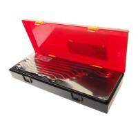 Набор ключей накидных 8-24мм., 45гр., зеркальная полировка, (8ед.) K6083 JTC