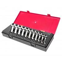 Набор ключей рожково-накидных 6-19мм., укороченых (14ед.) K6143 JTC