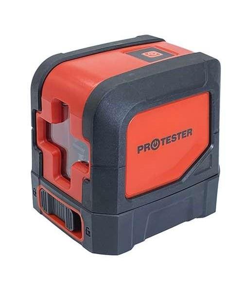 Лазерный уровень, 2 линии, 1H/1V (красный луч) PROTESTER LL102R