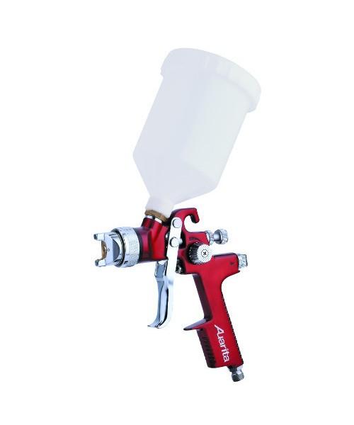 Краскопульт низкого давления HVLP 1,3мм, ВБ пласт. 600мл AUARITA AB-17G-1.3