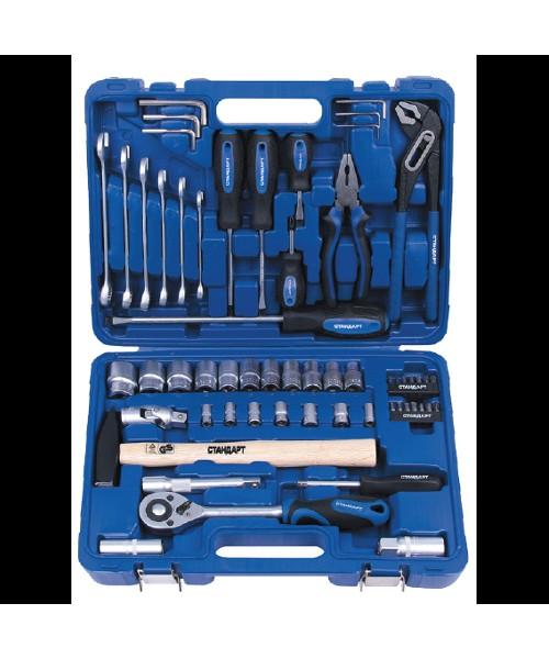Комбинированный набор инструментов в кейсе 59ед. СТАНДАРТ ST-0059