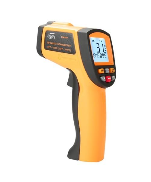 Пирометр инфракрасный для измерения температуры -50-550°C BENETECH GM500
