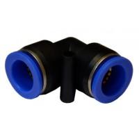 Соединение цанговое для шлангов Г-образное 10мм AIRKRAFT SPV10
