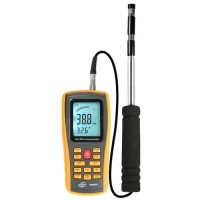Термоанемометр профессиональный USB 0,3-30 м/с, 0-45°C BENETECH GM8903