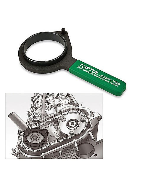 Ключ для снятия и установки шестерни распредвала (BMW VANOS) TOPTUL JDDP1765