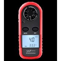 Анемометр цифровой 0,1-30м/с, -10-45°C WINTACT WT816
