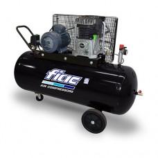 Воздушный компрессор для СТО ременной Vрес=200л, 360л/мин, 220V, 2,2кВт FIAC AB200-360-220