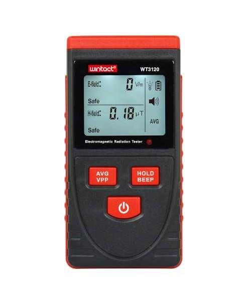 Детектор электромагнитного поля (1-1999В/м, 0.01-99,99μt) WINTACT WT3120