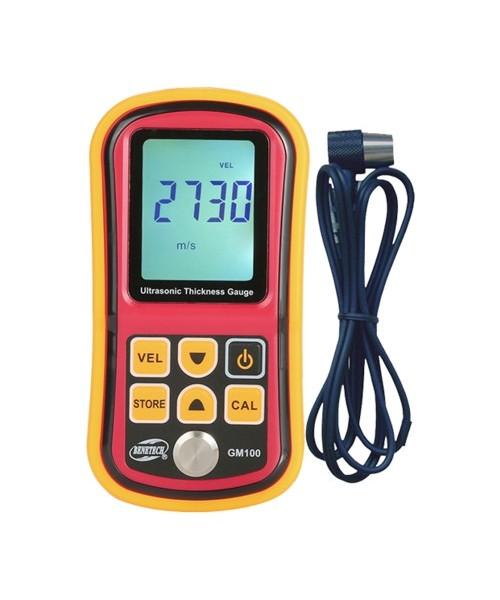 Толщиномер ультразвуковой 1,2-225мм BENETECH GM100