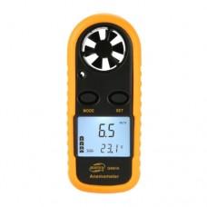 Цифровой анемометр 0,1-30м/с, -10-45°C BENETECH GM816