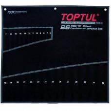 Чехол для гаечных ключей на 26ед. (от набора GPAA2602, GPAX2601) TOPTUL PA26063201