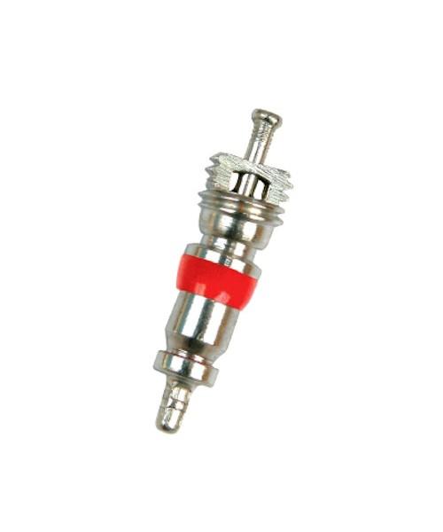 Золотник для вентиля короткий с красным уплотнительным кольцом (ниппель)