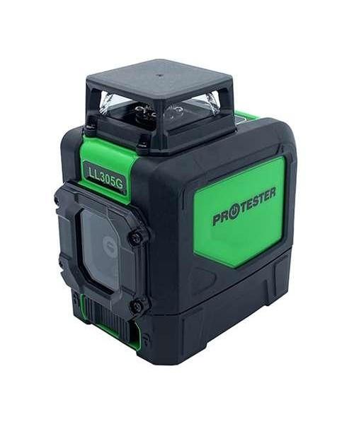 Лазерный уровень, H360°/1V, (зеленый луч) PROTESTER LL305G