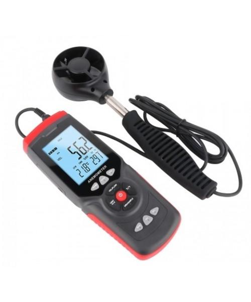 Анемометр профессиональный USB 0,3-45м/с, 0-45°C BENETECH GT8907
