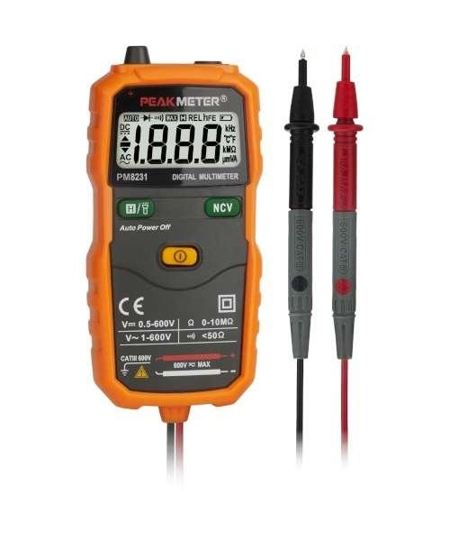 Мультиметр цифровой универсальный smart PROTESTER PM8231