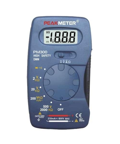 Мультиметр цифровой карманный PROTESTER PM300