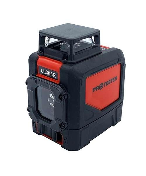 Лазерный уровень, H360°/1V (красный луч) PROTESTER LL305R