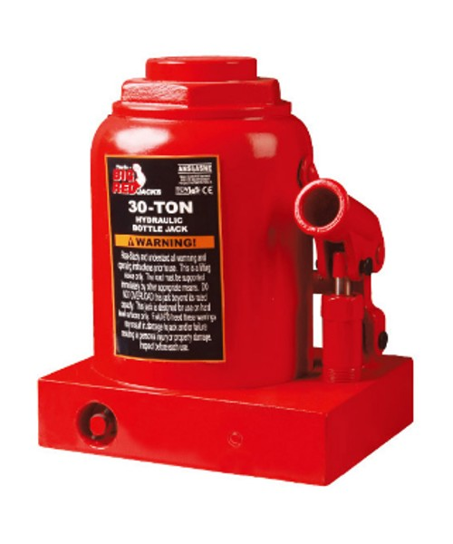 Домкрат 30т бутылочный 240-370мм TORIN T93007