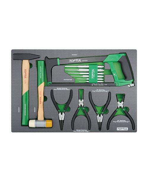 Комбинированный набор инструментов в ложементе 13ед. TOPTUL GED1323