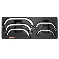 Набор накидных ключей С-образных 10-22мм 5ед. (в ложементе) TOPTUL GAAT0504