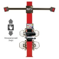 Стенд для регулировки развала-схождения, технология 3-D, 2-х камерный с механическим лифтом, ПО ProA HUNTER PA120E+HS200ML1E