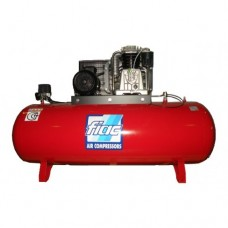 Компрессор поршневой с ременным приводом, Vрес=500л, 912л/мин, 380V, 7,5кВт FIAC AB500/912/380