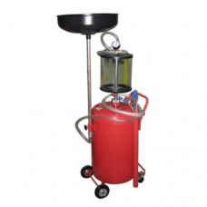 Установка для слива и вакуумной откачки масла с мерной колбой 80л B8010KVS GIKRAFT