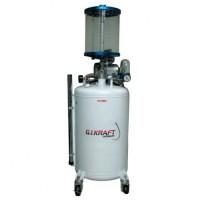 Установка для откачки масла с пневмонасосом и мерной колбой 80л HD-853 GIKRAFT
