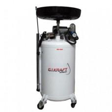 Установка для слива и откачки масла вакуумного типа 80л HD-808 GIKRAFT