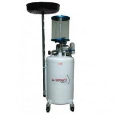 Установка для слива и откачки масла 80л. HD-855 GIKRAFT