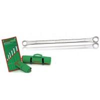 Набор ключей комбинированных укороченных. 10 шт. 10-19 Toptul GAAA1001
