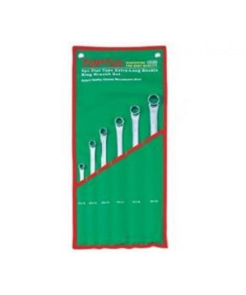 Набор накидных ключей 8-19мм (угол 75°) 6ед. Toptul GAAA0604