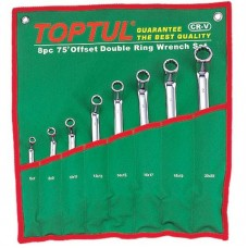 Набор накидных ключей 6-22мм (угол 75°) 8ед. GAAA0810 TOPTUL