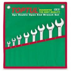 Набор ключей комбинированных 8 шт. 10-19 GAAA0804 TOPTUL