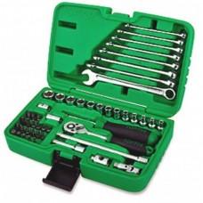 """Набор инструмента 1/4"""" + ключи 49ед. GCAI4901 TOPTUL"""