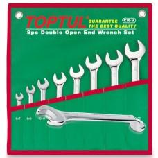 Набор ключей комб. (угол 75°) 8шт. 8-19мм (в сумке) GAAA0815 TOPTUL