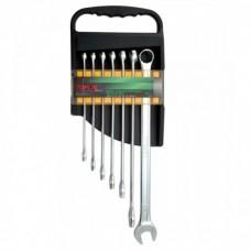 Набор ключей комбинированных супердлин. 7 шт. 10-19 (полиров) Toptul GAAM0705